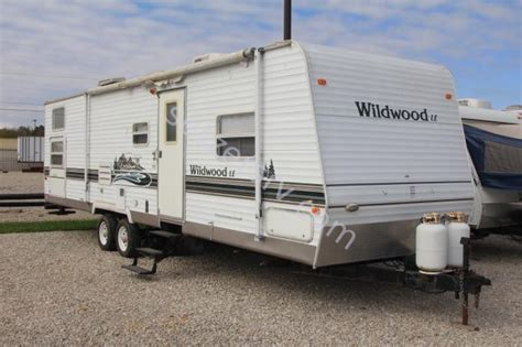 used 2005 forest river rv wildwood le 31qbss le travel 2005 forest river wildwood le 31qbss
