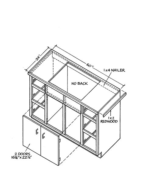 building kitchen cabinets pdf pdf plans how to build wood kitchen cabinets download diy
