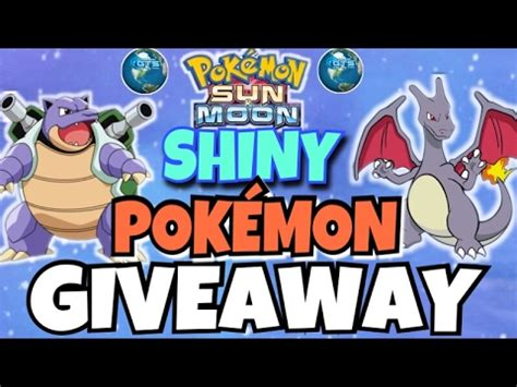 Pokemon Live Giveaway - shiny pokemon giveaway livestream reverse gts giveaway pokemon sun and moon ga
