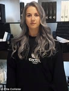 can gray hair turn black again five women dye their hair grey for femail daily mail online