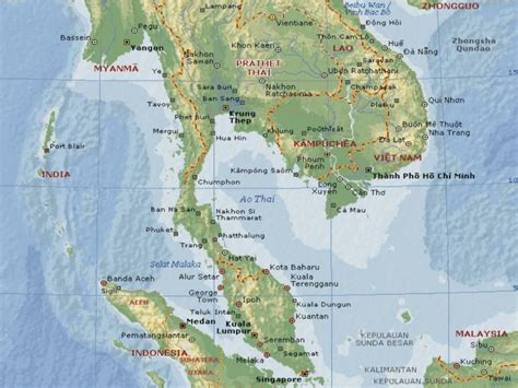 printable map koh samui map of thailand free coloring pages