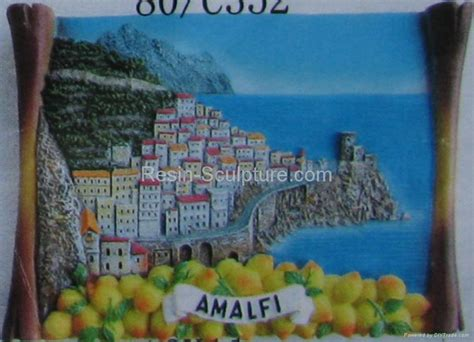 italy crafts resin souvenirs italy amalfi rs032 t win china