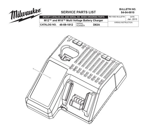 resetting milwaukee battery buy milwaukee 48 59 1812 d63a m18 m12 multi voltage