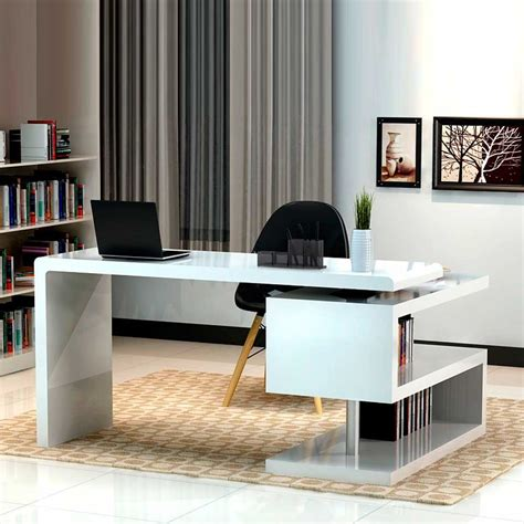 modern white office desk guides to buy modern office desk for home office midcityeast