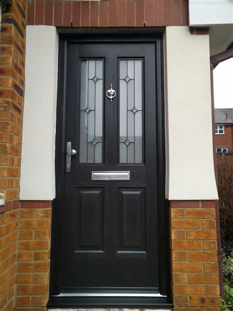 Composite Front Doors Fitted 25 Best Ideas About Black Composite Door On Front Doors Door