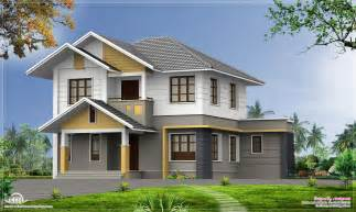 Kerala Home Design 2000 Sq Ft 2100 Square 5 Bedroom Home Elevation Kerala Home
