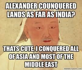 Meme Generator Khan - genghis khan