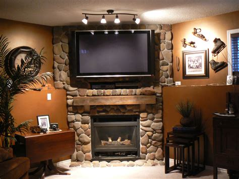 designing around a fireplace rock around mantle for more fireplace design ideas using