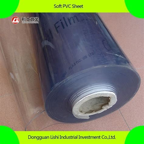 Plastik Rol Soft clear soft pvc sheet pvc roll transparent
