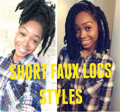 How To Style Short Faux Locs( Marley Hair)   YouTube