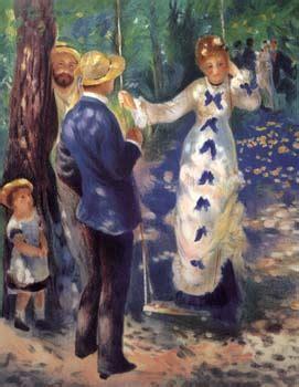 La Balancoire Renoir by Textes Sur La Litt 233 Rature Et Les Arts L Impressionnisme