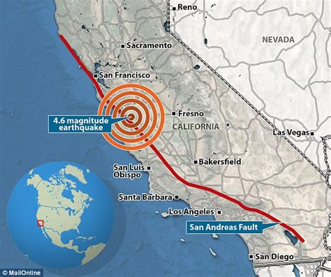 quake swarm rocks san andreas fault at monterey county