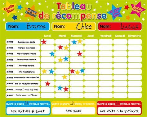 8 Points About Parenthood by R 233 Compense Magn 233 Tique Tableau Des Responsabilit 233 S