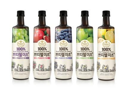 fruit vinegar for drink cj petitzel fruit vinegar for drink pomegranate korean