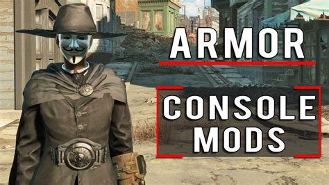 console mods fallout 4 5 awesome armor console mods to