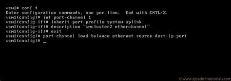 uplink console commands how to install the cisco nexus 1000v switch part 3