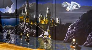 Harry Potter Wall Murals Bespoke Murals Kids Murals Sacredart Murals Co Uk