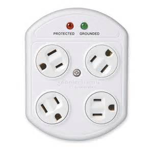 Four Outlet Shop 360 Electrical 4 Outlet Rotating In Adapter With