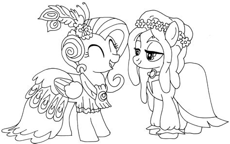 printable   pony coloring pages january