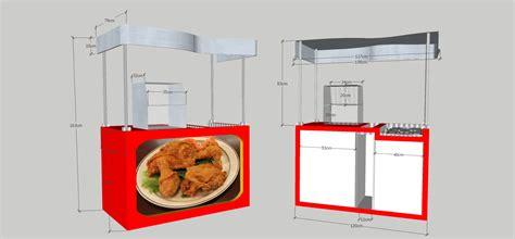 desain booth gerobak quot salatiga booth quot salatiga jasa desain logo usaha jasa