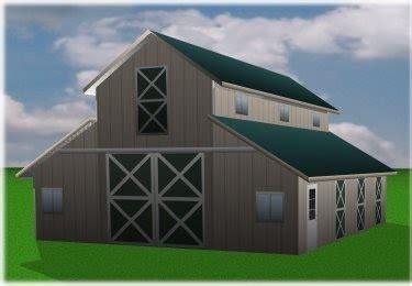 tutor barn shop designs tutor monitor barn plans pole