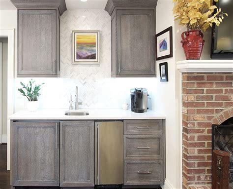 cerused oak kitchen cabinets cerused oak transitional remodel greenbrook design center
