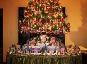 Christmas village display