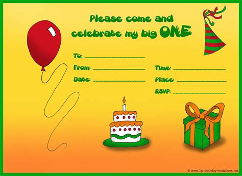 how to make birthday invitation cards at home how to create birthday invitations and cards 1st