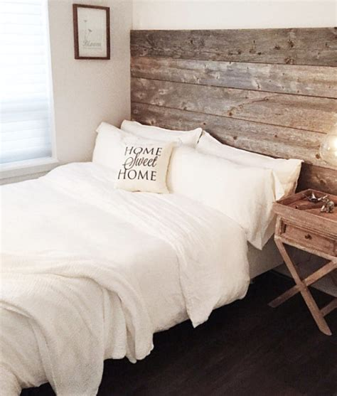 Bed Headboards How To Make by Reclaimed Wood Headboard Diy Installation Made From Real