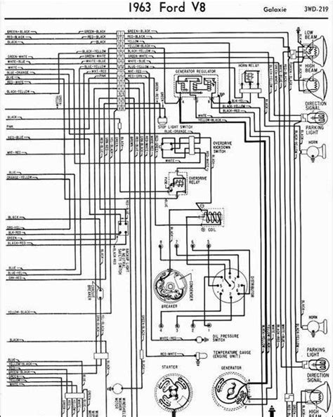 1963 ford light switch wiring diagram ford auto wiring