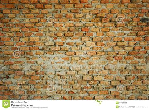 Wall Handmade - wall handmade with bricks stock photo image 44106123