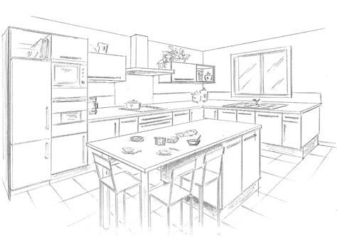 dessiner un plan de cuisine faire les plans de sa cuisine table de cuisine