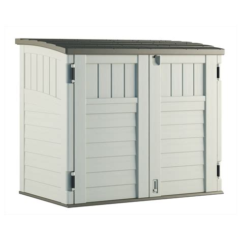storage sheds for backyard suncast resin outdoor storage shed lowe s canada