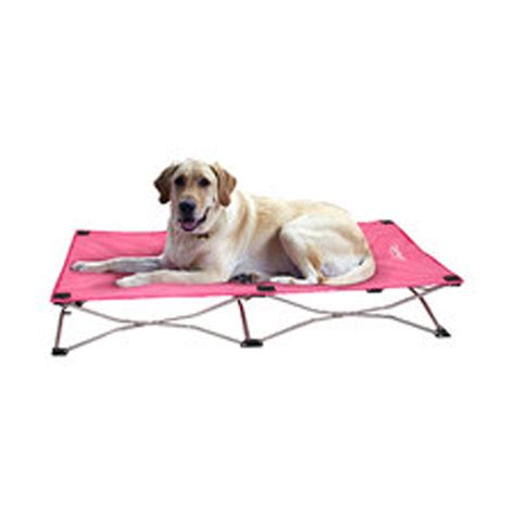 portable dog bed carlson portable pup travel dog bed pink at baxterboo