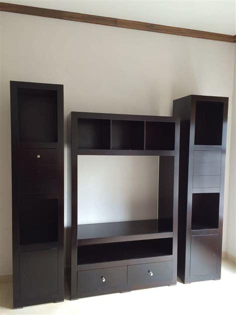 librero y tele mueble para televisi 243 n y librero 4 474 00 en mercado libre
