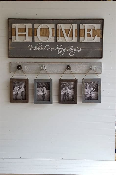 live home themes cool rustic home sign home where our story starts