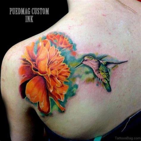tattoo hummingbird flower 62 unique hummingbird tattoo for back