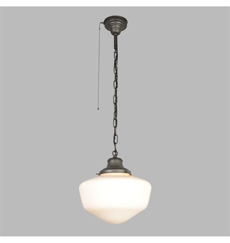 Ceiling lighting pull chain light fixture with lamp