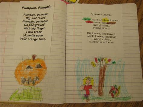 poems for kindergarten kindergarten smiles poetry notebooks