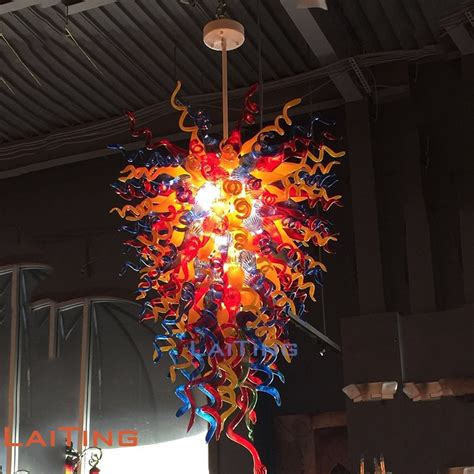 colored chandeliers coffee southeast asia thai style small chandelier colored