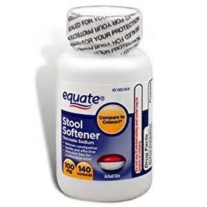 equate stool softener 100 mg 140 capsules