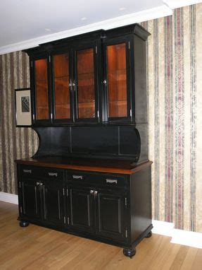 Kitchen Buffet And Hutch Furniture Made Custom Made Buffet And Hutch By H Handcrafted Furniture
