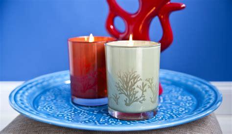 candele particolari candele decorative riscalda gli ambienti con stile