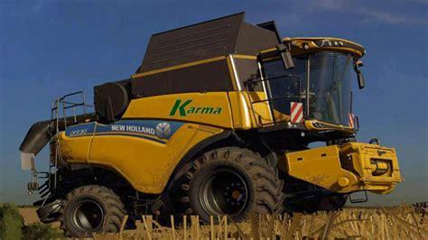 Led Lighting For Trucks New Holland Cr9 90 Combine Farming Simulator 2017 Mod