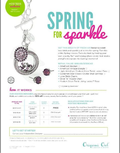 Origami Owl Rewards - the world s catalog of ideas