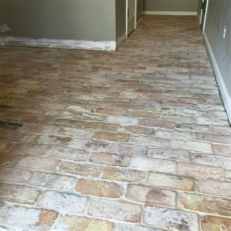 Brick Tile Floor by 17 Beste Idee 235 N Brick Tile Floor Op