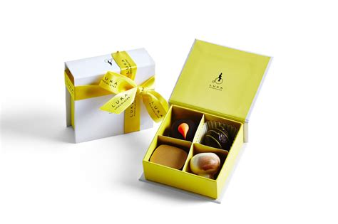 Harbox Giftbox 4 chocolate gift box 4 pieces luka chocolates
