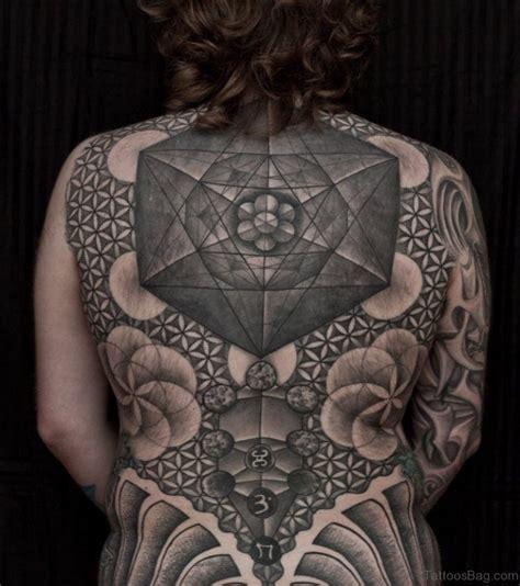 tattoo geometric girl 69 great geometric tattoo design on back