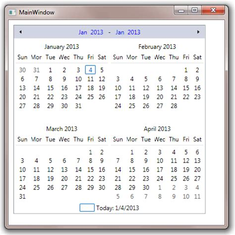 calendar multi month calendar template 2016