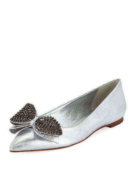 Burch Vent Ballet Flat Shoes Size 37 Original Ori burch rosalind metallic ballerina flat neiman